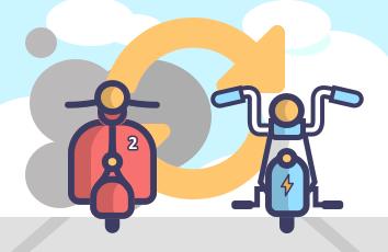 設置電機二輪車充電設施